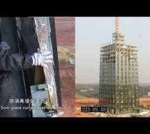 ***30-story building built in 15 days*** Construction time lapse