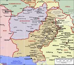 Map of Pak-Afghanistan