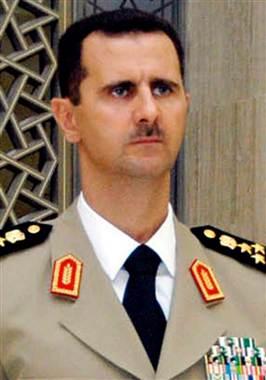 syerian president
